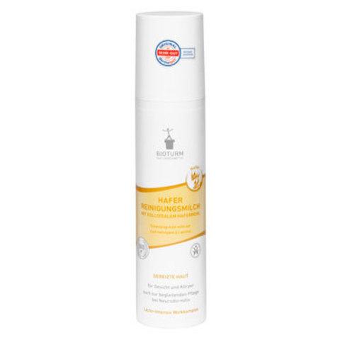 Очищающее молочко для лица и тела с овсяной мукой Nr.95 Bioturm, 200 мл