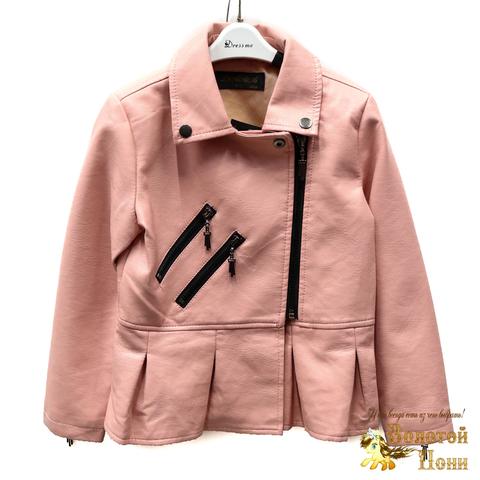 Куртка экокожа девочке (4-10) 200318-W2005-1