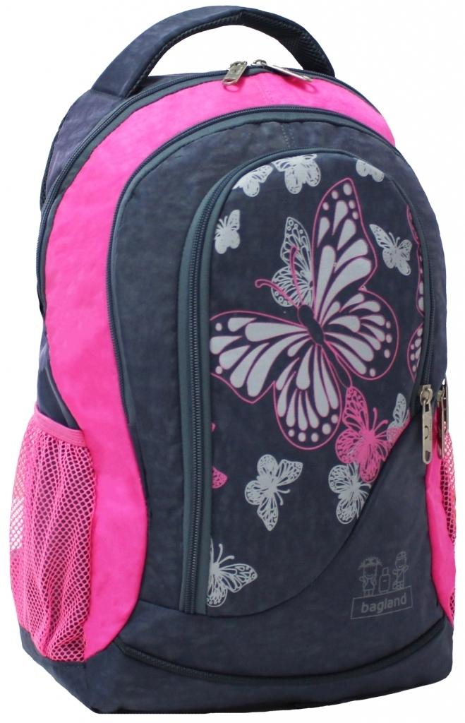 Городские рюкзаки Рюкзак Bagland Бис 21 л. Серый/розовый (0055670) 5650ba43d21e7148e0e52dbbf746f538.JPG