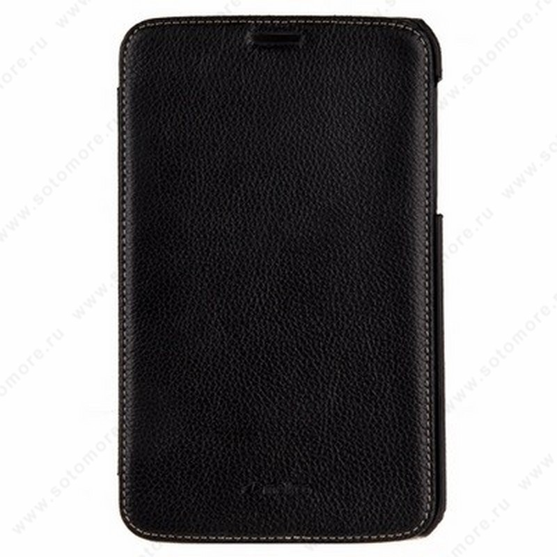 Чехол-флип Melkco для Samsung Galaxy Tab 3 7.0 P3200/ P3210 Leather Case Jacka Type - Face Cover Book Type (Black LC) Ver.3