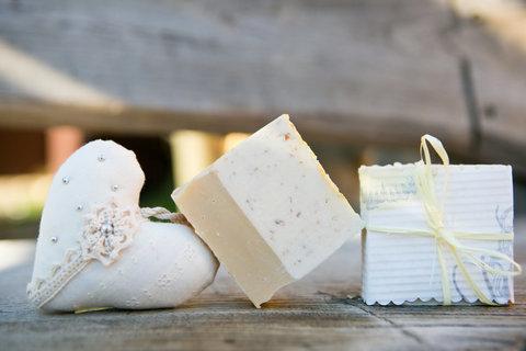Органическое мыло Молоко и мёд