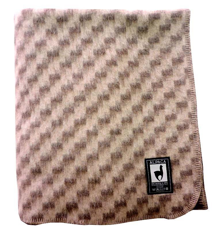 Шерстяные одеяла Одеяло INCALPACA  Перу из шерсти альпаки  OA-5 oa5.jpg