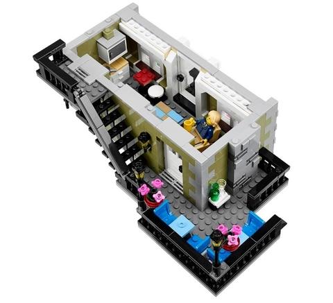 LEGO Creator: Парижский Ресторан 10243 — Parisian Restaurant — Лего Креатор Создатель Творец