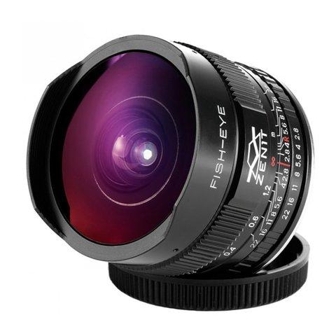 Объектив Зенит МС Зенитар-C 16mm f/2.8 Fisheye для Canon EF