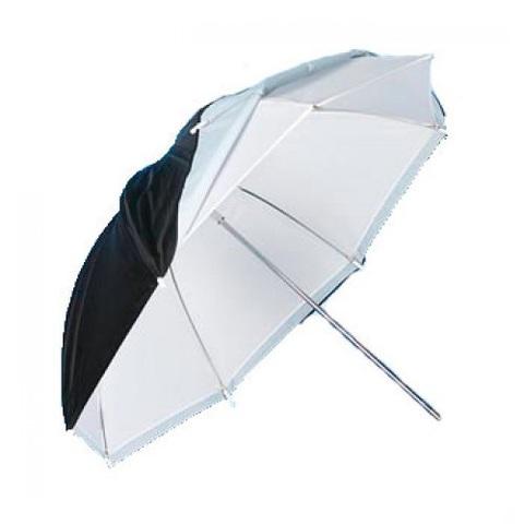 Двуслойный белый зонт FST UC 80см