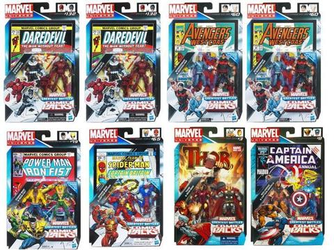Secret Wars Comic Two-Packs 2011 Series 03
