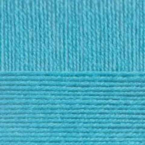 Купить Пряжа Пехорка Кроссбред Бразилии Код цвета 583-Бирюза | Интернет-магазин пряжи «Пряха»