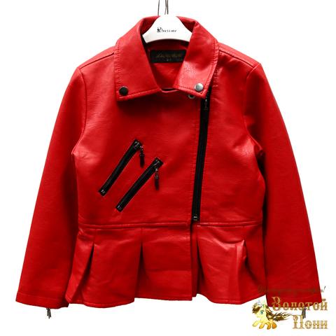 Куртка экокожа девочке (4-10) 200318-W2005-2