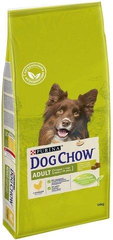 DOG CHOW Adult сухой корм с ягненком для взрослых собак 1-5 лет 14 кг