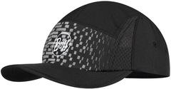 Спортивная кепка для бега женская Buff Run Cap R-Natron Grey