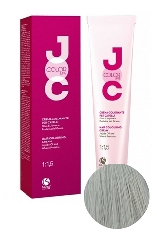 Крем-краска для волос 931 суперосветляющий блондин пепельный JOC COLOR, Barex