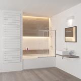 Шторка на ванну RGW SC-40 (60-100)х150 03114010-11 прозрачное