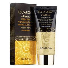 Farmstay Escargot Noblesse Intensive BB Cream SPF 50 PA+++ - Антивозрастной ББ крем для лица с муцином королевской улитки
