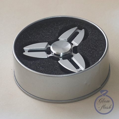 Спиннер металлический сюррикен серебряного цвета srckn_001_silver