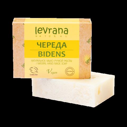 Levrana Натуральное мыло ручной работы Череда, 100гр