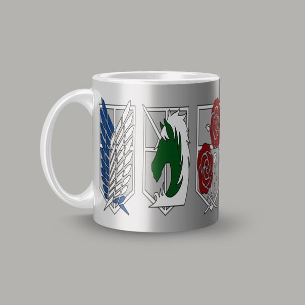 Кружка с эмблемами легионов (1 ракурс) - 1 фото