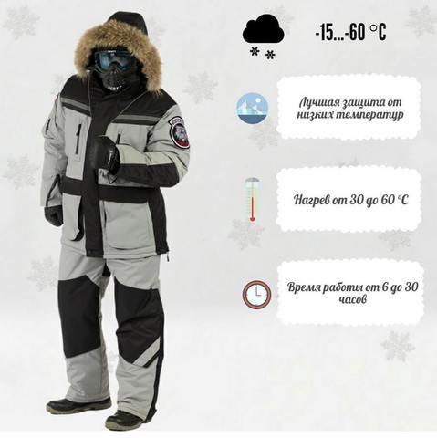 Костюм RedLaika «Arctic» («Арктик»)  мотоэкипировка с подогревом