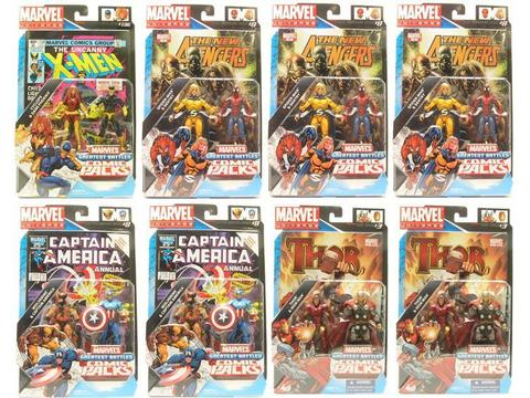 Secret Wars Comic Two-Packs 2011 Series 04