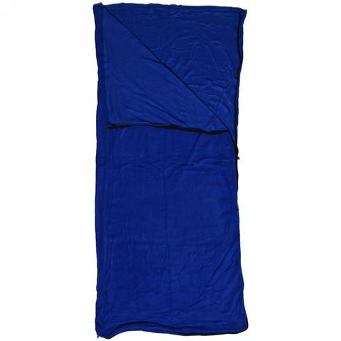 Мешок спальный одеяло флизелиновый 175*75 см, синий +20С