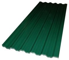 Профнастил 2х сторонний С-10 (RAL 6005) зеленый мох 1200х2000х0,5мм (2,4м2)