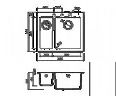 Схема Omoikiri Bosen 59-2-DC