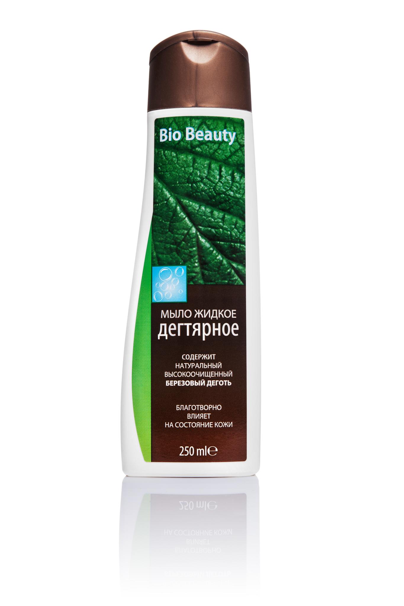 Bio Beauty мыло жидкое дегтярное 250 мл.