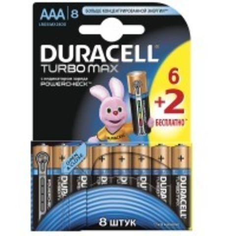 Батарейки Duracell Turbo LR6, AA (8/96) BL