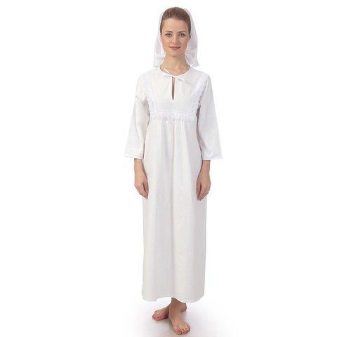 Женская крестильная рубашка