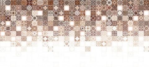 Плитка настенная CERSANIT Hammam 440х200 рельеф бежевый HAG011D