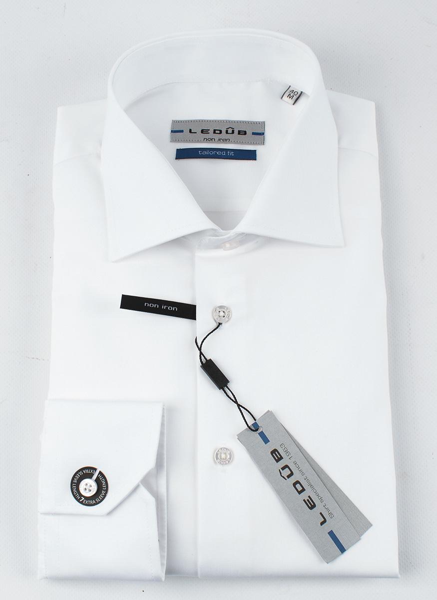 Рубашка Ledub tailored fit 0690168-910-000-000-TF-WhiteB