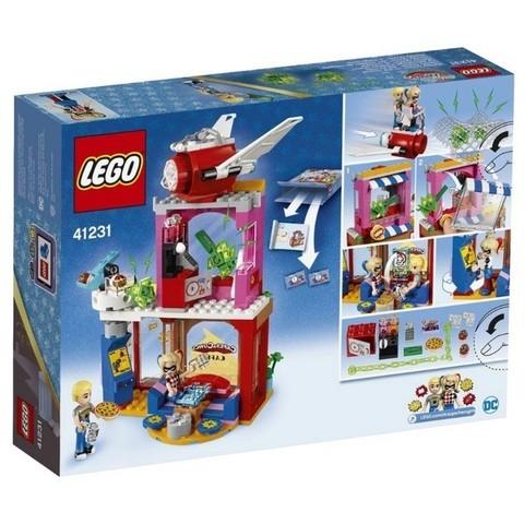 LEGO DC Super Hero Girls: Харли Квинн спешит на помощь 41231 — Harley Quinn to the Rescue — Лего Девушки-супергерои