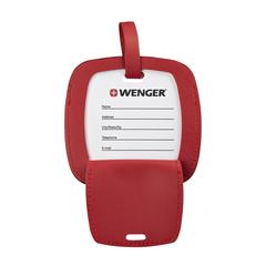 Бирка для багажа Wenger, красная, 4,1x4,1x0,4 см