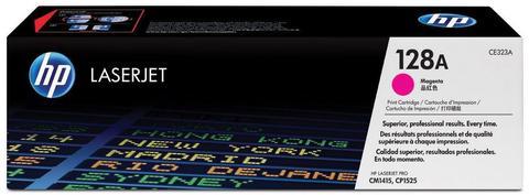 Оригинальный картридж HP CE323A (№128A), пурпурный