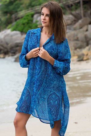 Платье-рубашка Riviera 8257 Mia-Amore