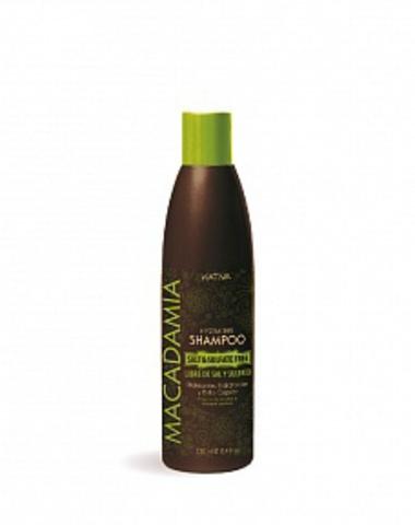 Увлажняющий шампунь для нормальных и поврежденных волос MACADAMIA, 250 мл., Kativa