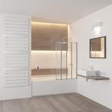 Шторка на ванну RGW SC-23 100х150 03112310-11 прозрачное