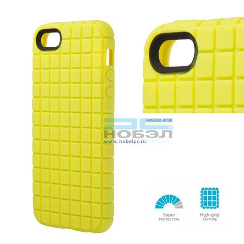 Чехол для iPhone Speck для iPhone SE / 5S Speck PixelSkin for iPhone 5 ярко-желтый SPK-A0709 Lemongrass