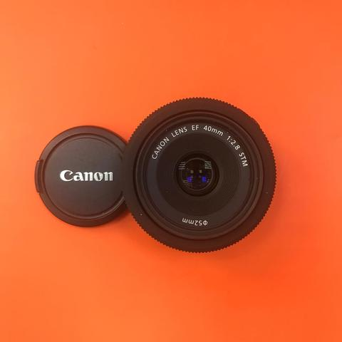 Canon 40mm f2.8 STM комиссия