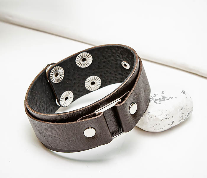 Boroda Design, Мужской браслет напульсник ручной работы