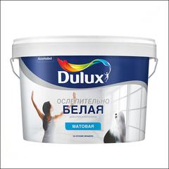 Краска для стен и потолка Dulux (белая)