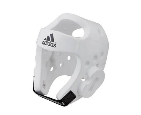 Шлем для тхэквондо Head Guard Dip Foam WTF белый
