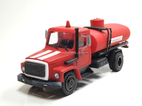 GAZ-3309 tank Fire engine Kompanion 1:43
