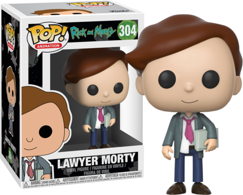 Фигурка Funko POP! Vinyl: Rick & Morty S3: Lawyer Morty 22963