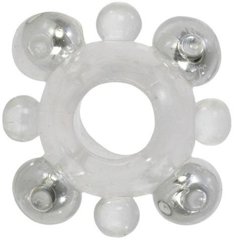 Кольцо с бусинами BASIC ENHANCER