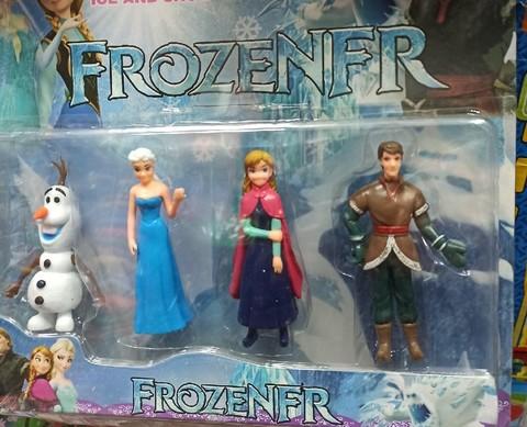 Набор кукол мультфильма Холодное сердце