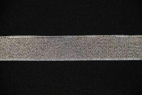 Лента металлизированная.БОБИНАМИ Серебро.  (выбрать размер)