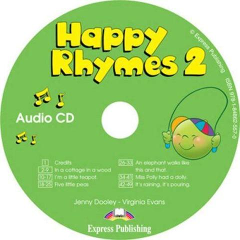 Happy Rhymes 2. Audio CD. Аудио CD