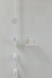 Мыльница для ванной и душа настенная на присоске Flex белая Umbra 1004433-660 | Купить в Москве, СПб и с доставкой по всей России | Интернет магазин www.Kitchen-Devices.ru