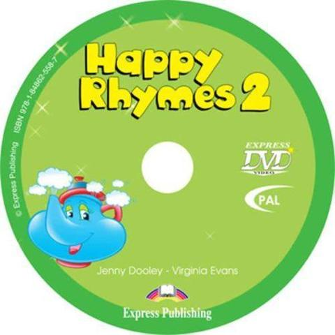 Happy Rhymes 2. DVD видео (PAL)