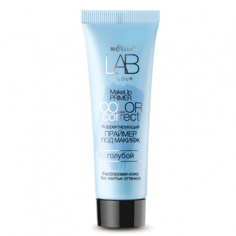 B&V Белита Витекс LAB colour Праймер Корректирующий под макияж Color Correct голубой 20мл